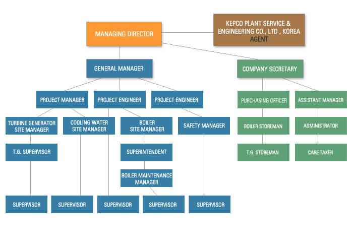Organisation Chart Power Projects International